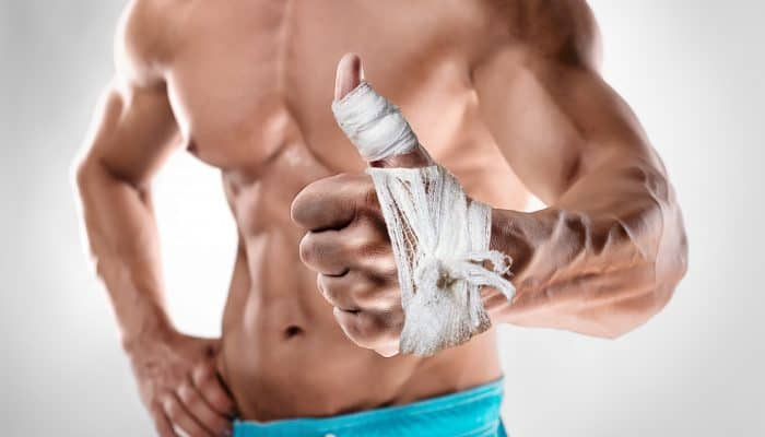 Bodybuilding injury