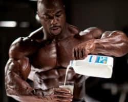 Can milk do a bodybuilder good?