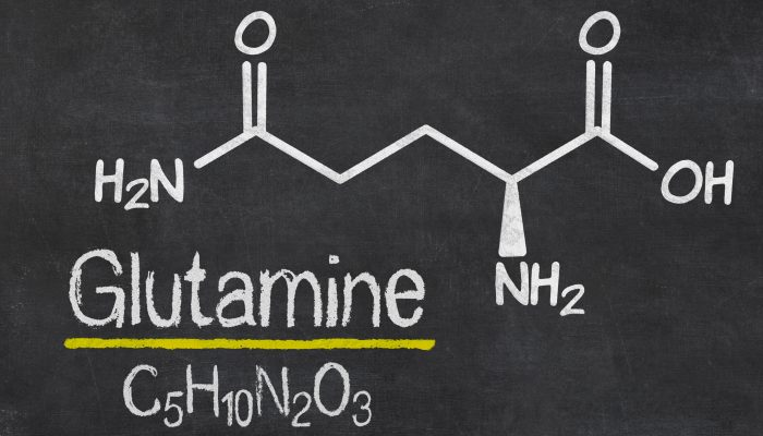 Chemical formula of Glutamine